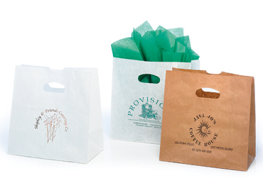 Die Cut Handle Paper Bags | Packaging Specialties
