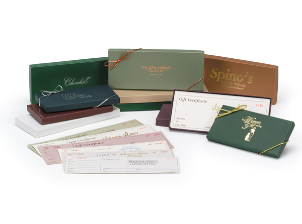 Gift Certificates & Envelopes | Packaging Specialties