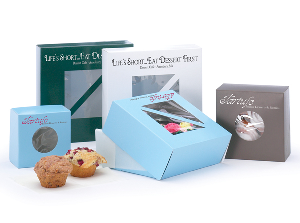 Pastry Boxes with Windows