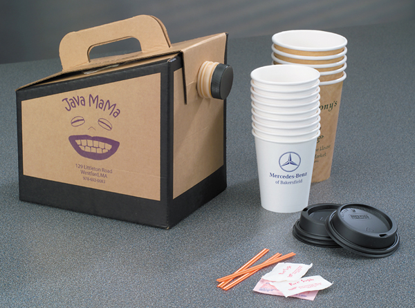 Beverage on the Move Coffee Boxes