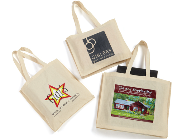 Light Weight Canvas Shopping Bags