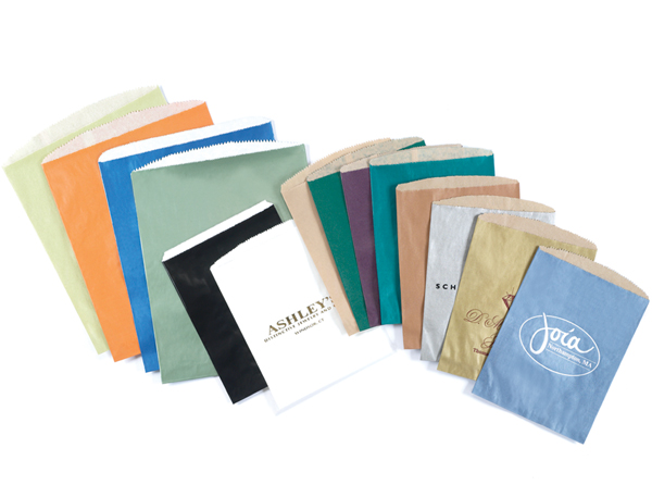 Tinted Merchandise Bags