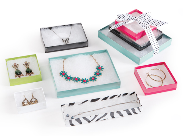 Clear Acetate Lid Jewelry Boxes