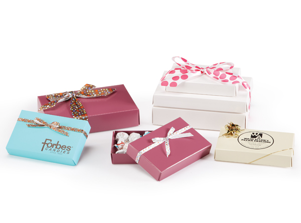 Two Piece Folding Set Up Candy Boxes