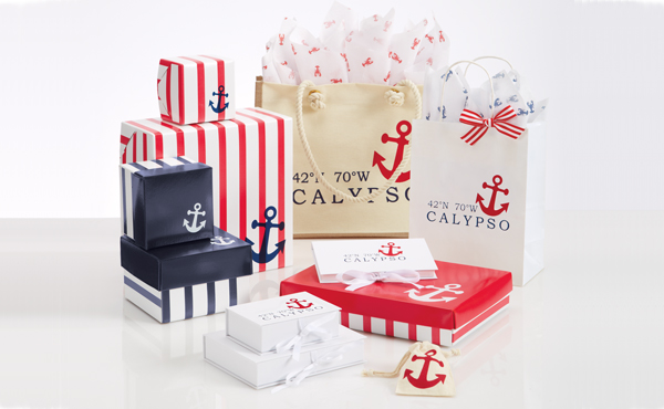 Nautical Inspired Packaging
