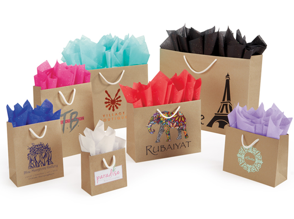 Uptown European Shopping Bags